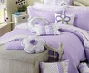 Purple Girls Quilt Bedding Sets
