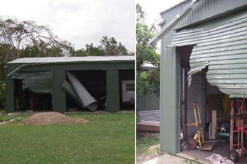 Cyclone Preperation And Steel Sheds Design Bookmark 21892