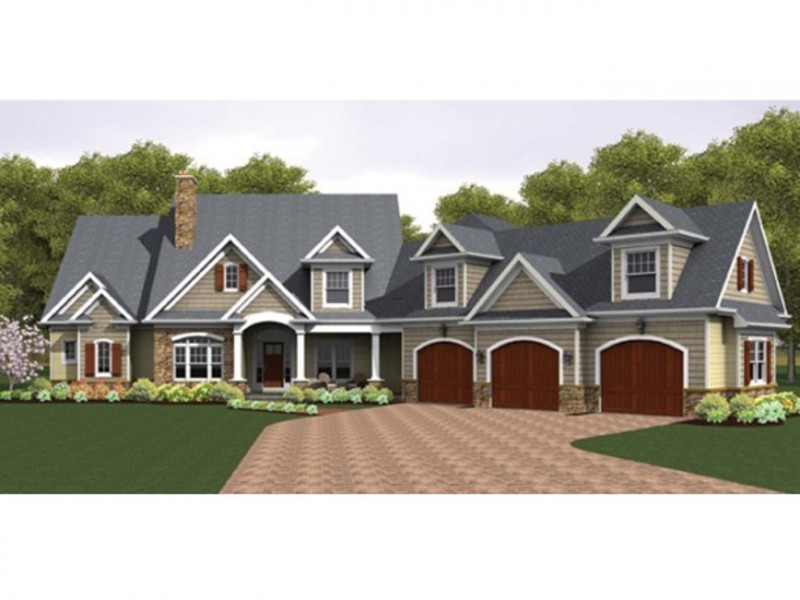 Colonial house plan with 3247 square feet and 4 bedrooms for Dream home house plans