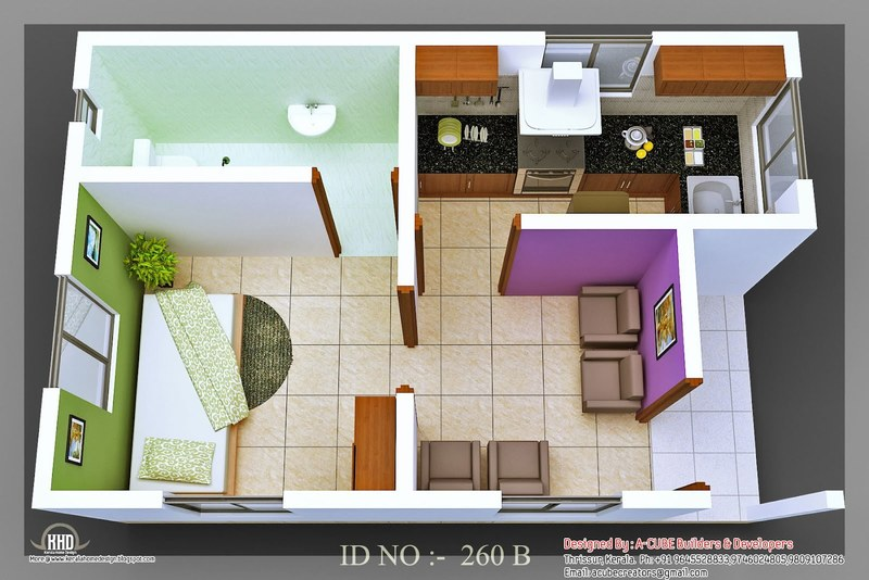 Small House Designs, Decoration