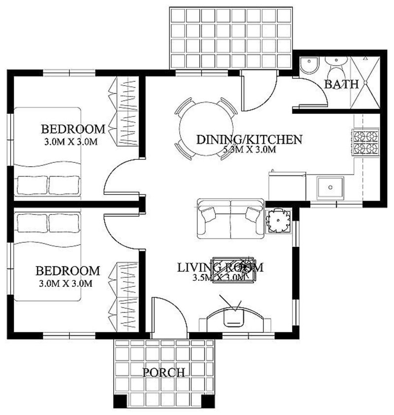 Small House Designs, Free Small Home Floor Plans