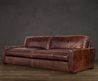 "Sorensen Leather Sofas, $2310 For 72"" At Restoration Hardware.  Love The Danish Lines!"