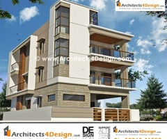 Elevations In Bangalore For House, Apartment, Villa And Elevations For Residential Buildings In Bangalore