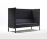 Upholstered Restaurant Booth Stripes Maxi By Giulio Marelli Italia Design Jérôme Gauthier