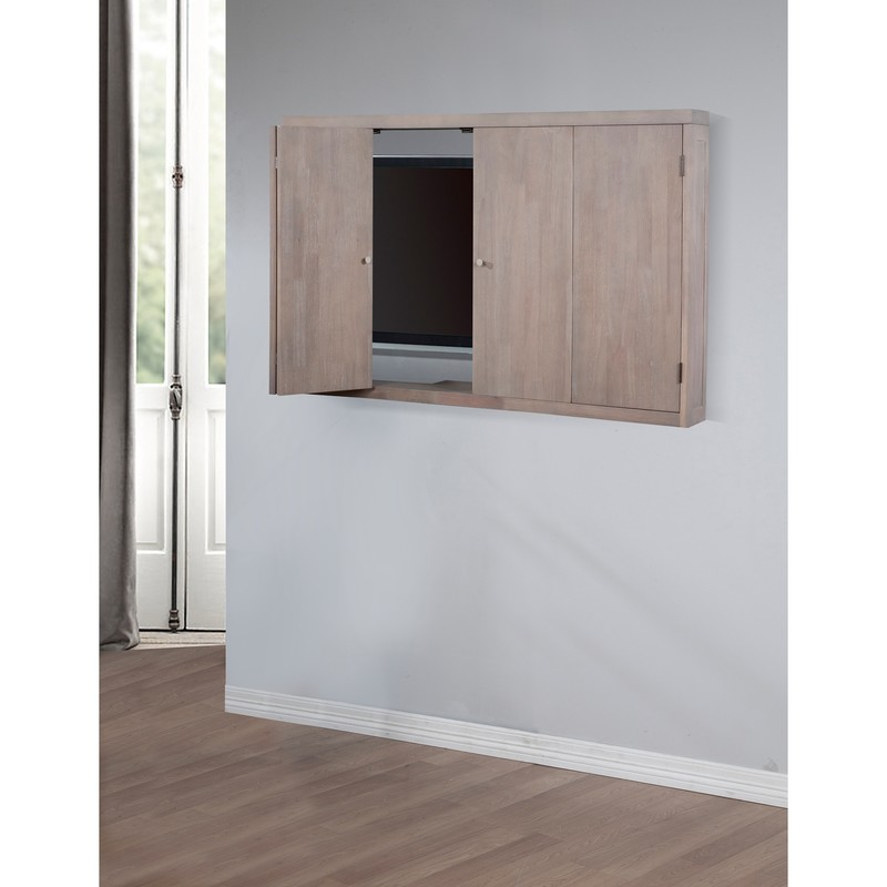 Wall Mounted Tv Cabinets For Flat Screens, Out Door Wall Tv Cabinet With Bi Fold White Painted Wooden Door. Exterior. Shocking Tv Wall Cabinets For Flat Screens With Doors Ideas. Tv Furniture. Tv Cabinets For Flat Screens. Hidden Tv Cabinets For Flat Screens. Cabinet For Flat Screen Tv. Exterior