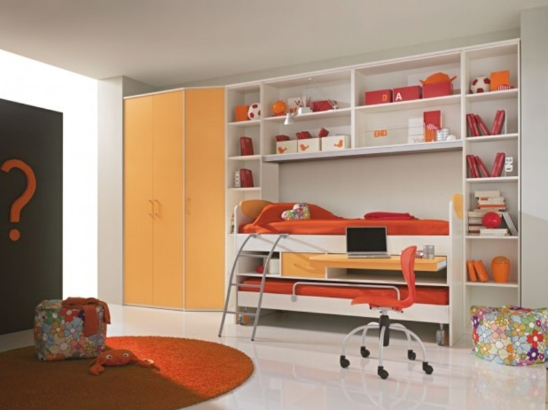 Awesome Teenage Girls Bedroom Decorating Ideas With Large ...