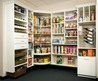 Astounding Brown Finish Freestanding Kitchen Pantry Cabinet With Storage Shelves Are Built In Both Doors And Two Small Drawer Underneath As Well As Kitchen Pantry Shelves And Built In Pantry Ideas Awesome Kitchen Pantry Cabinet Design Ideas For Provides M
