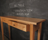 Recycled Ash Hall Table