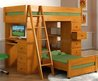 Bunk Bed With Desk And Drawers — Panoramalife Photography