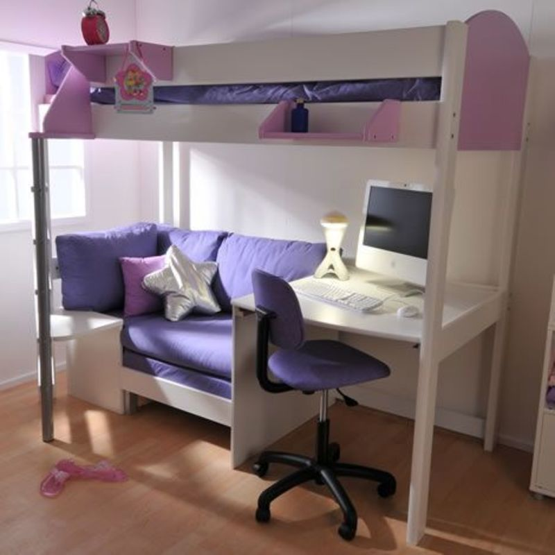 1000 Ideas About Enclosed Bed On Pinterest: 1000+ Ideas About Bunk Bed With Desk On Pinterest / Design