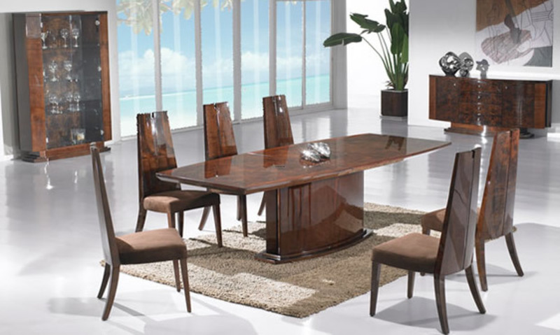 Modern Dining Table Design, Modern And Stylish Dining Table Design For Dining Room Furniture  371px 620px Pic Name337303.Jpg 966 V