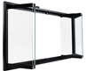 Heatilator Replacement Fireplace Doors With Clear, Tempered Safety Glass