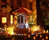 Scary Red Outdoor Halloween Decorations — House Decoration Ideas