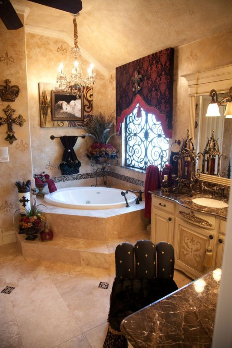 1000 ideas about tuscan bathroom on pinterest design for Tuscan bathroom ideas
