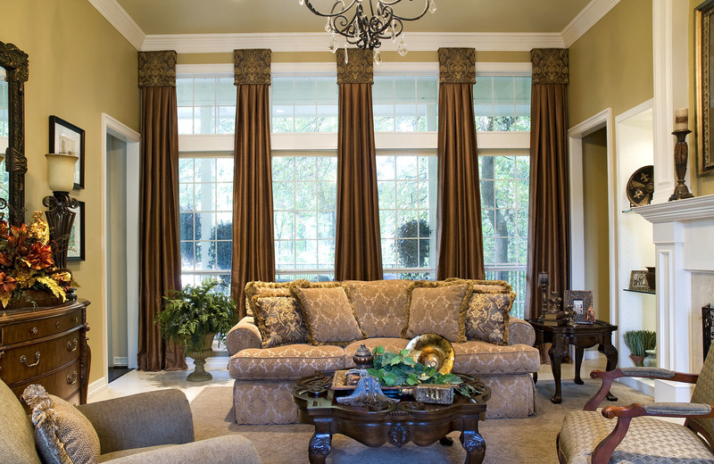 Curtains For Large Living Room Window And Living Room ...