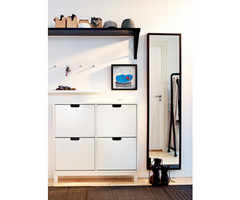 StÄll Shoe Cabinet With 4 Compartments