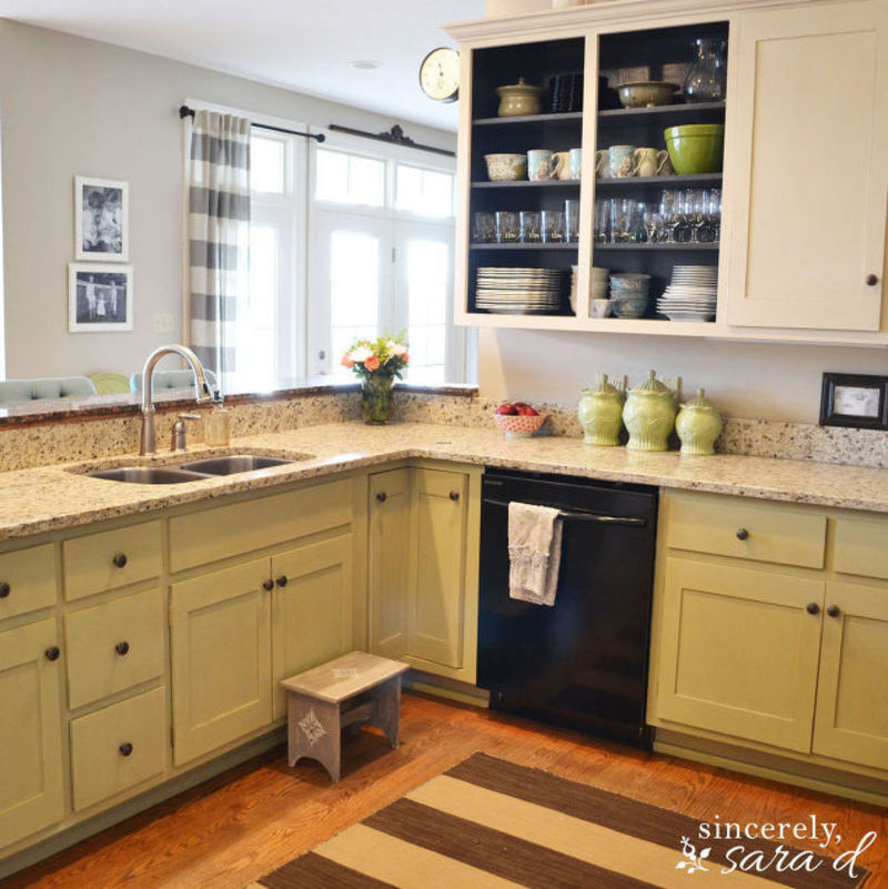 Home and garden diy ideas photos and answers design - Diy projects painting kitchen cabinets ...