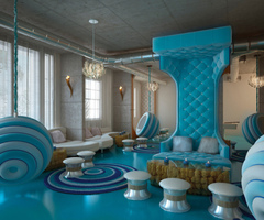 Colorful Modern Hotel Interior Design Ideas For Sweet Home