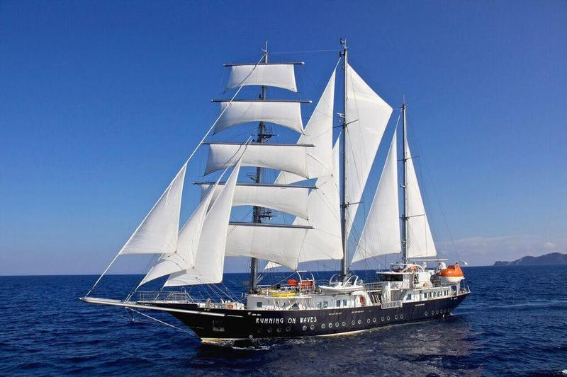 100 Ft Sailing Yacht, Running On Waves Yacht Charter Price