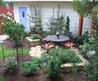 Garden Design Small Yard Landscaping Ideas Sadashivnagar Road Bangalore The Space Is A Secluded Retreat With A Tiny Library That Doubles As A Performance Area For Family Small Yard Landscaping Ideas Cheap Design Easy Front Yard Landscape Photos. Front Yar