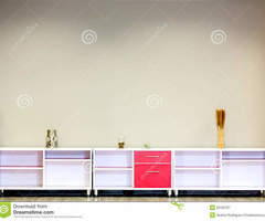 Wooden Furniture For Storage Royalty Free Stock Photography