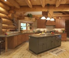 Log Home Lighting Ideas