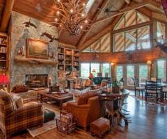 Amazing Log Home Lighting Ideas