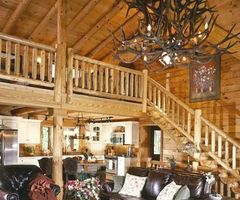 Log Homes, Logs And Great Rooms On Pinterest