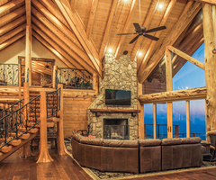 Interior Lighting Tips For Your Log Home