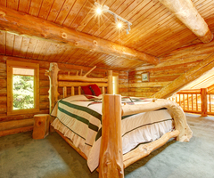 Log Home Lighting Tips, Create That Mood!