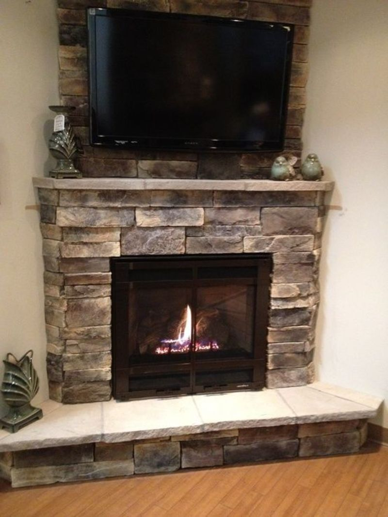 1000 Ideas About Stone Fireplace Designs On Pinterest