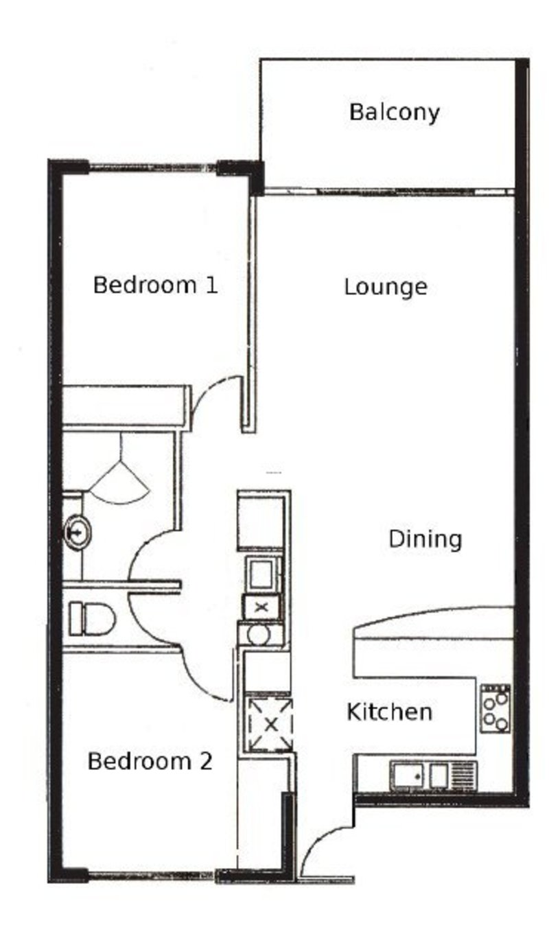 1000 images about 2 bedroom apartment floor plans on for 2 bedroom apartment layout