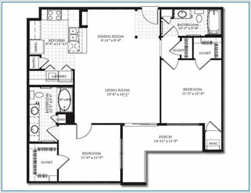 Floor plans apartments for rent woodbury minnesota for 2 bedroom apartment layout