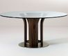 Round Glass Dining Table Luxuryroomco Round Glass Top Dining Table