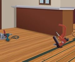 How To Install Hardwood Flooring At The Home Depot The Home Depot Logo