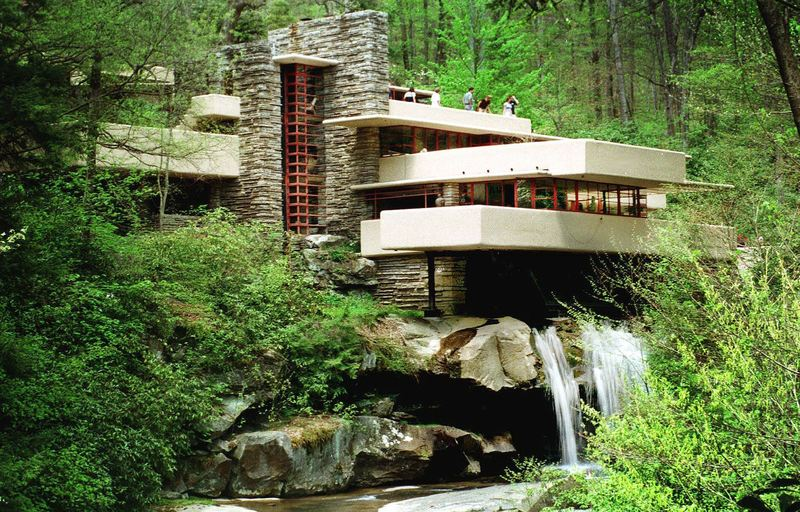 Fallingwater, Wright'S Fallingwater, Other Works Placed On Landmarks Waiting List
