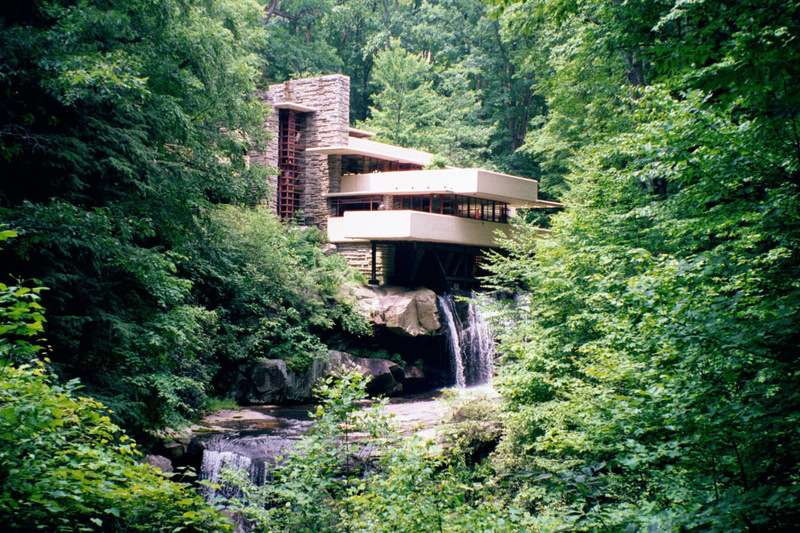 Fallingwater, Large Photographs Of Fallingwater (Kaufmann House Above Waterfall), Frank Lloyd Wright, Architect