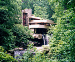 Large Photographs Of Fallingwater (Kaufmann House Above Waterfall), Frank Lloyd Wright, Architect