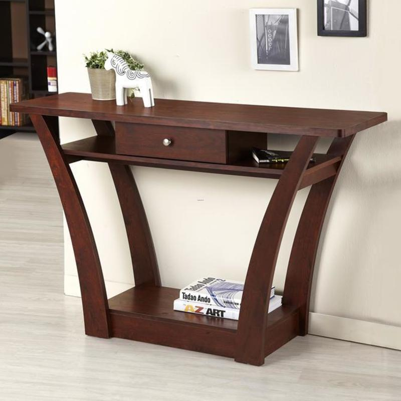 Console Tables, Collection Of Top Wooden Console Tables