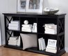Handy Console Table With Storage — Home Storage