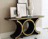 Luxurious Gold Console Table