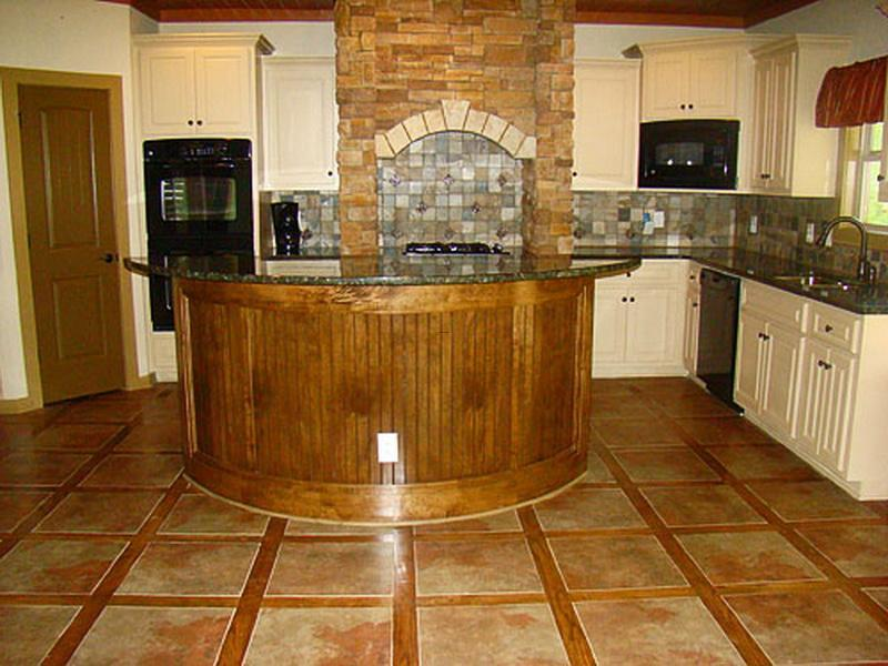 Floor Tile Patters Ideas For Small Kitchen., Kitchen Floor Tiles Design