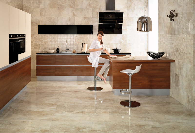 Floor Tile Patters Ideas For Small Kitchen., Kitchen Floor Tiles Designs