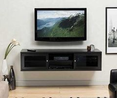 1000+ Ideas About Floating Tv Stand On Pinterest