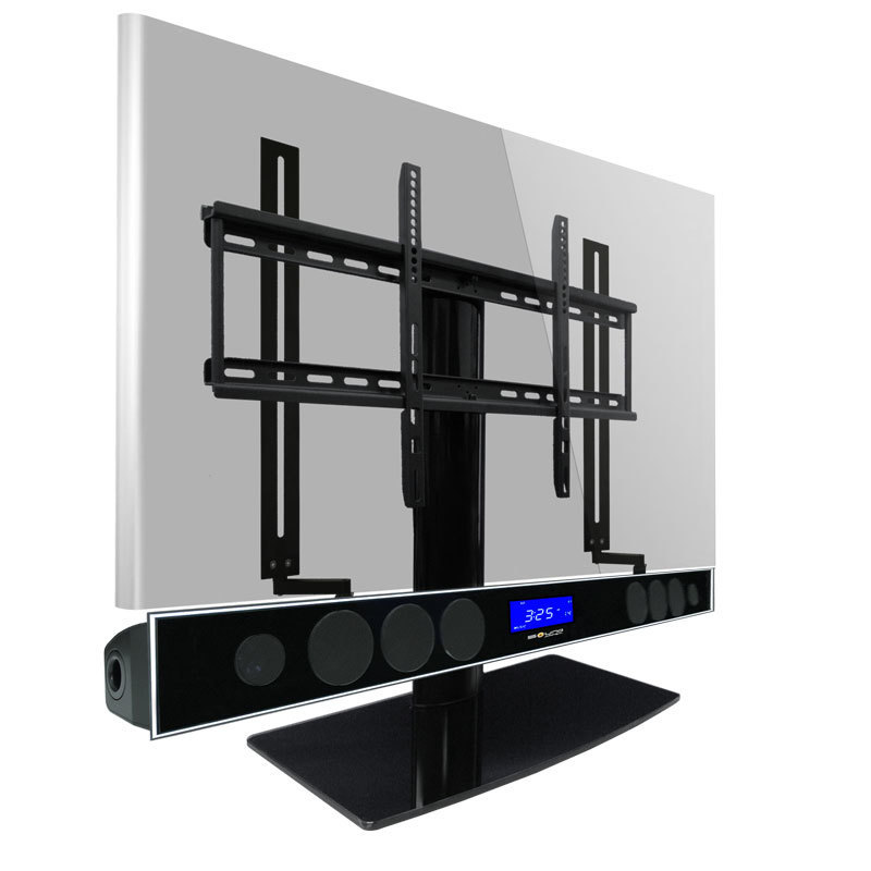 Mounting Bracket Rail Wall Mounted Tv Console Wood, Best Full Motion Tv Wall Mounts And Universal Tv Stands
