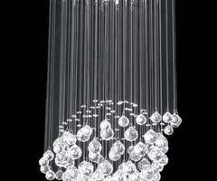 Modern Crystal Chandeliers For Your Dramatic Interior Appearance