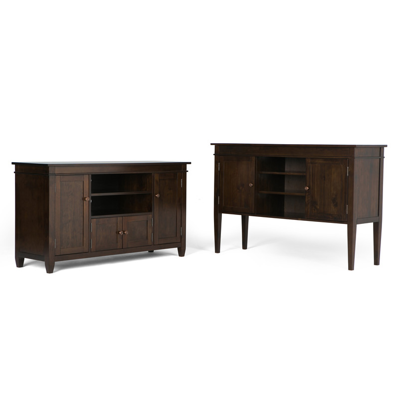 Essential Home  Bedford Tv Stand, Simpli Home Carlton Tv Stand & Reviews