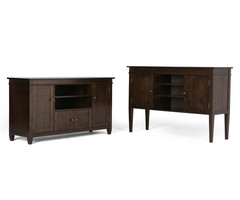 Simpli Home Carlton Tv Stand & Reviews