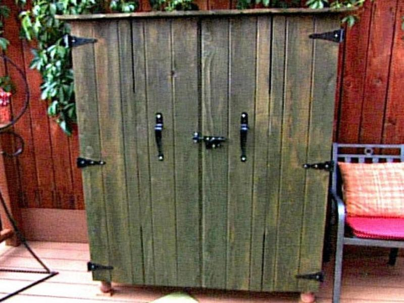 Outdoor Tv Cabinets With Doors, Build An Outdoor Tv Cabinet