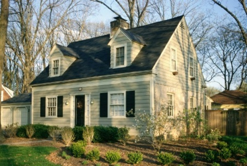 Cape Cod Home Style House, Home Architecture Style